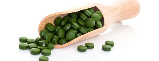 Spirulina tablets and many more